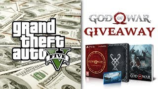 Σχεδόν 💲100.000.000 GTA V | God of War Giveaway