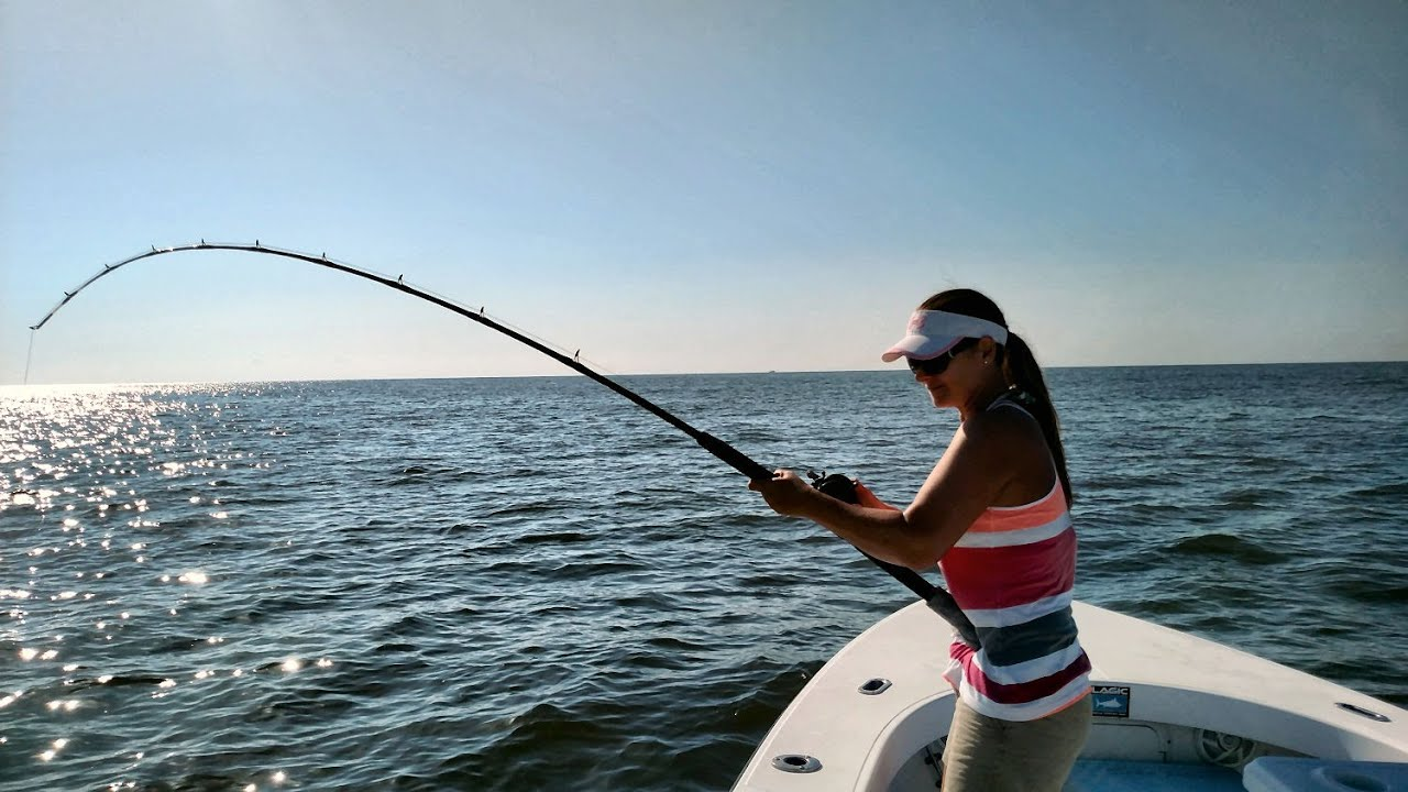 Fishing jekyll island and st simons island georgia youtube for St simons island fishing report