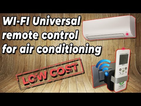 WI-FI Universal Remote Control For Air Conditioning