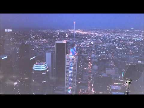 InterContinental Los Angeles Downtown light show, Grand Opening