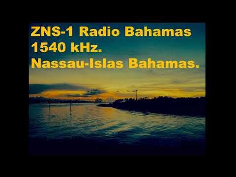 MW-DX: Radio Bahamas 1,540 kHz. The National Voice. [ ZNS-1].Islas Bahamas-Nassau. (In English). ID.