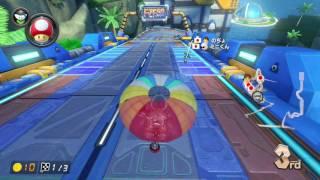 Mario Kart 8 Deluxe - Worldwide Online race #22 (Inside-Drift bike, MK8DX) 1080p60 マリカー