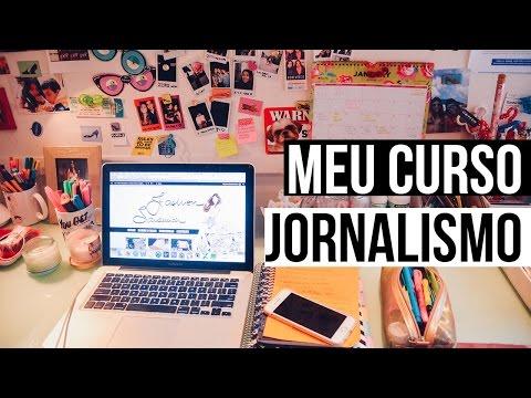 Minha faculdade de jornalismo, 4 semestre! • Ana Carolina Alves
