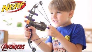 New Nerf Toy Marvel Avengers Hawkeye Bow