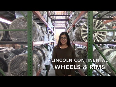 Factory Original Lincoln Continental Wheels & Lincoln Continental Rims – OriginalWheels.com