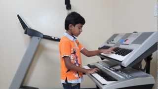 """""""Kaho Na Pyar Hai"""" on Keyboard by Vishwaraj Vinayakumar (INSTRUMENTAL)"""