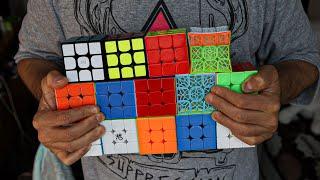 СБОРКА всех кубиков Рубика за ОДИНАКОВОЕ ВРЕМЯ. Какой кубик выбрать в 2020?
