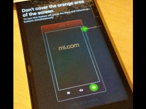 How To Get Rid Of MI 3W Error Msg Dont Cover The Orange Area Screen