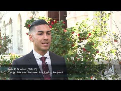 USD School of Law Named Scholarships