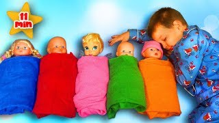 Are you sleeping Brother John | Pretend Play with Dolls | +More Nursery Rhymes by Funny Max Show