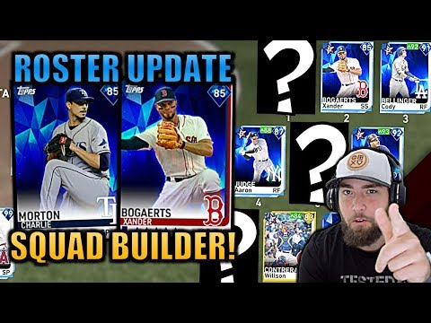 UPDATE SQUAD BUILDER! Ranked Seasons MLB The Show 19 Diamond