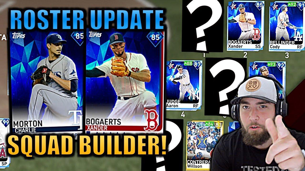 UPDATE SQUAD BUILDER! Ranked Seasons MLB The Show 19 Diamond Dynasty!