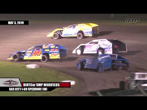 "2019 ""Opening Night / Spring Fever"" At Gas City I-69 Speedway - UMP MODS - FEATURE - (HIGHLIGHTS)"