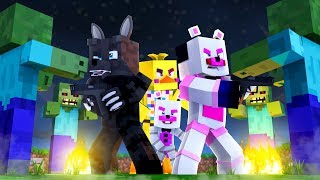 FNAF VS ZOMBIES !! | Minecraft FNAF Roleplay