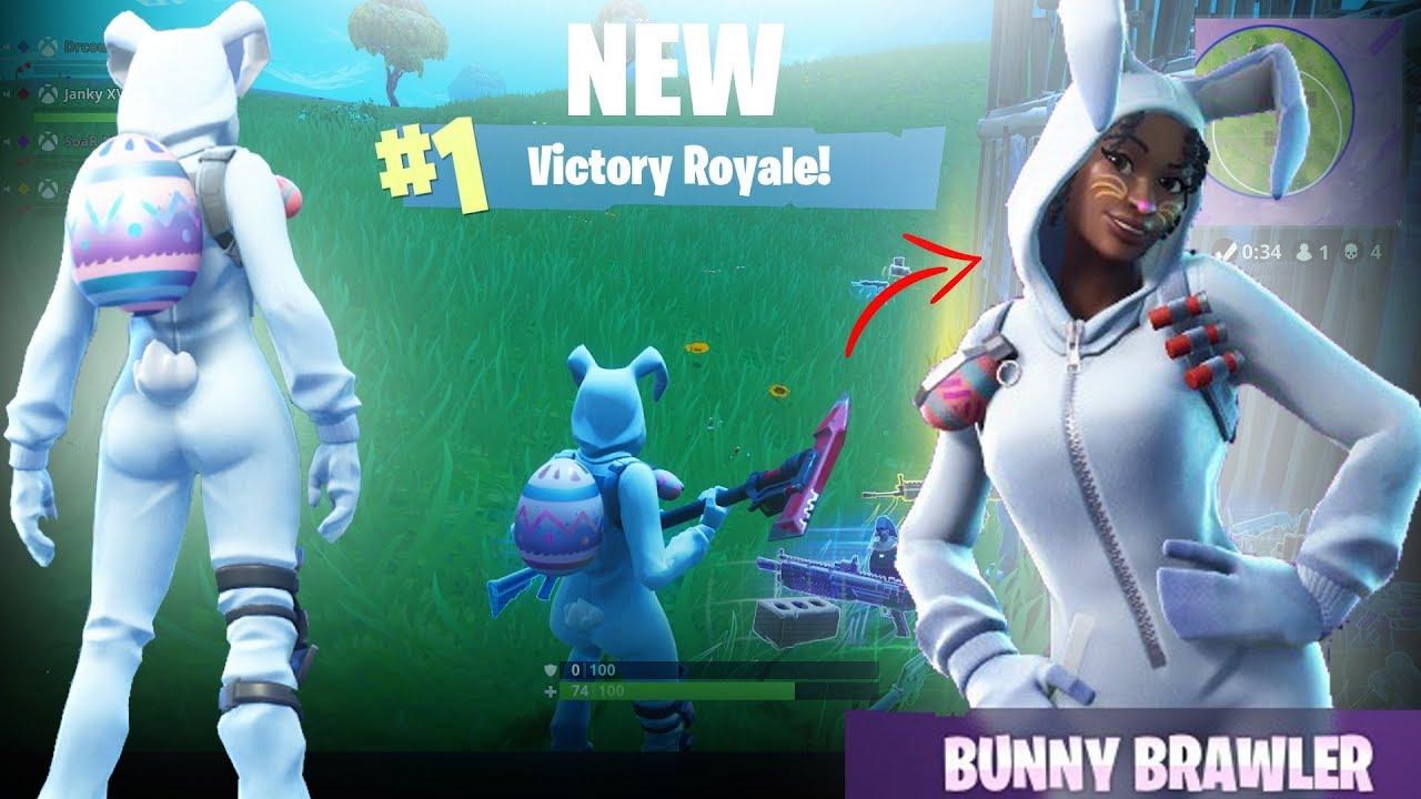 New fortnite skin bunny brawler youtube - Fortnite bunny brawler ...