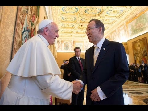 Vatican : The False Prophet Demands Redistribution of Wealth while meeting with U.N. (May 09, 2014)