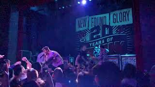 New Found Glory - All Downhill From Here | 11.7.17 @ White Eagle Hall