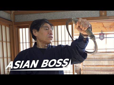 "Japan's ""Last Ninja"" Explains The Naruto Run  ASIAN BOSS"