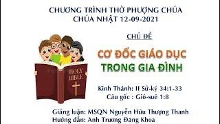 HTTL HUẾ - Chương trình thờ phượng Chúa - 12/09/2021
