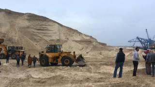مشهد عام للحفر 19فبراير 2015