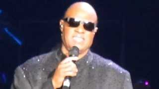 """Stevie Wonder """"Village Ghetto Land"""" Live 2014"""