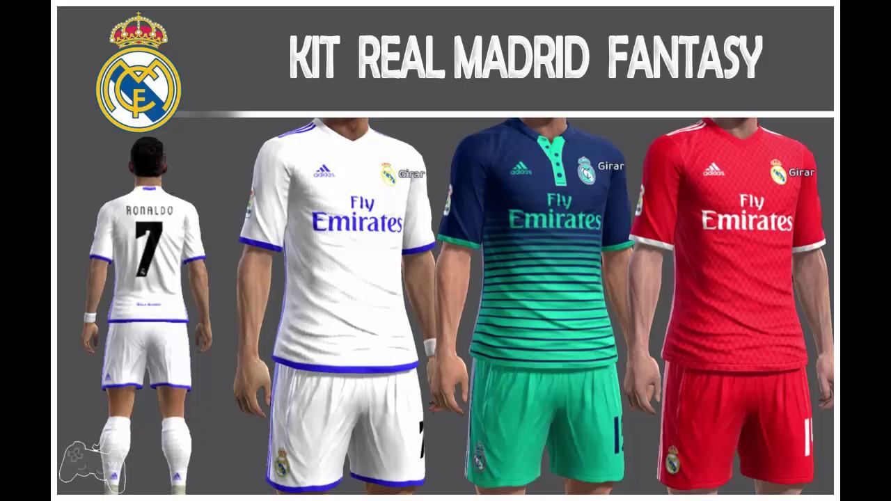Kit Real Madrid • FANTASY • Liga Master - YouTube