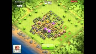 1.2 Million Resources Raids- Let's Play Raid - CoC - Clash of Clans- Great Raiding TH8 Raid