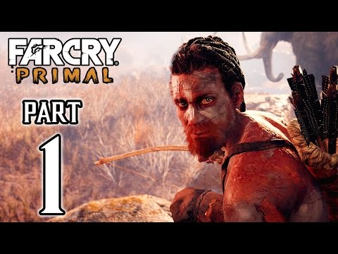 Far Cry Primal Walkthrough PART 1 First 40 Minutes Gameplay (PS4) @ 1440p HD ✔