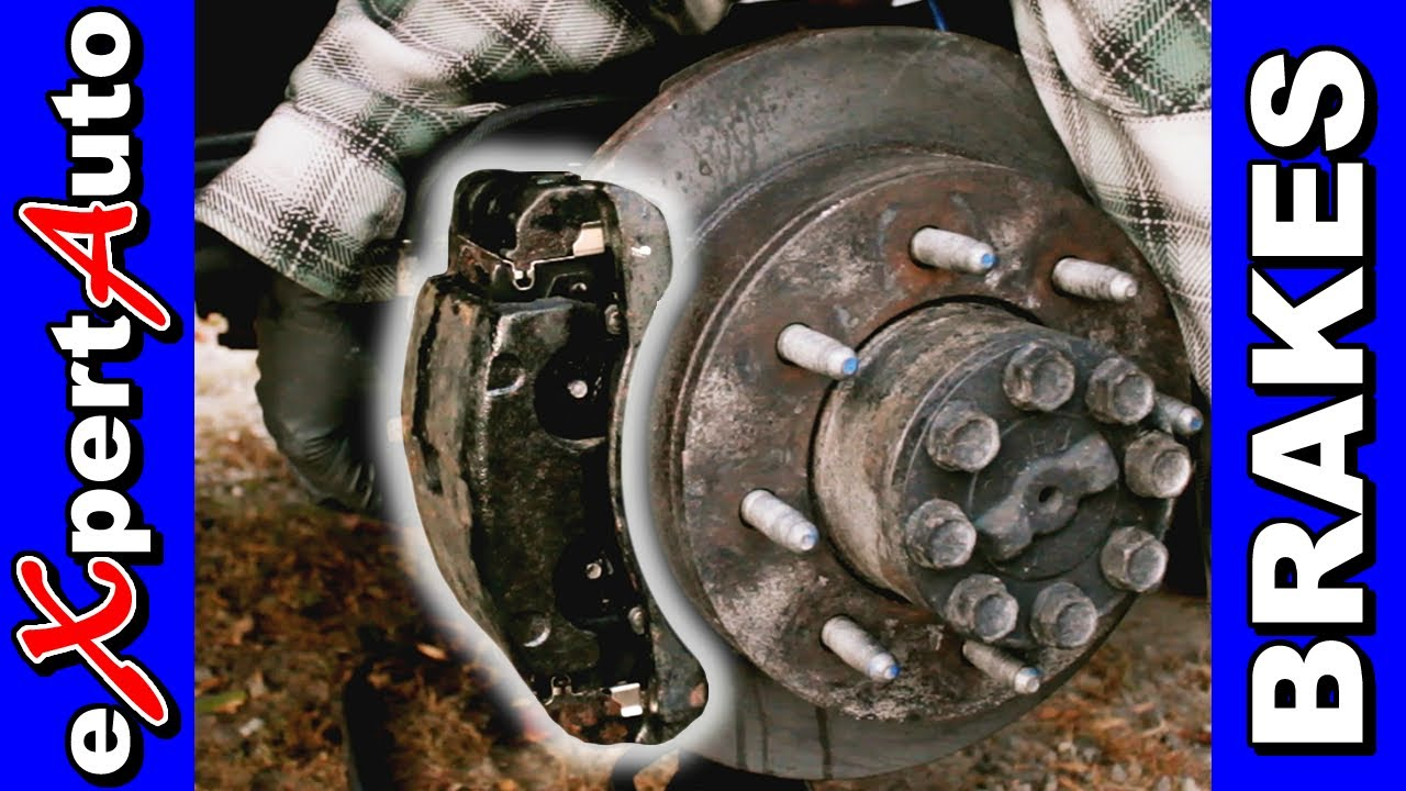How To Change Brake Pads and Rotors - YouTube