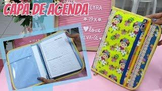 Capa de Agenda com Estojo – Frida Kahlo