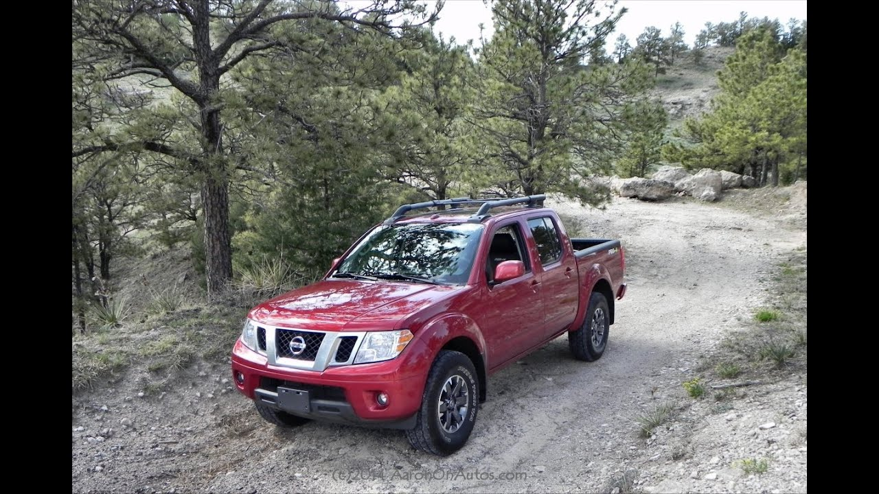 2014 Nissan Frontier Pro 4X Quick Sip Review