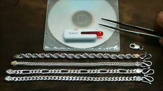 Video HOW TO MAKE A CUBAN LINK, FIGARO, FOXTAIL, ROPE CHAIN TUTORIAL VIDEO (See details below) download MP3, 3GP, MP4, WEBM, AVI, FLV Agustus 2018