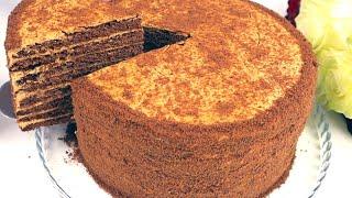 Самый Нежный Шоколадный Торт МЕДОВИК Просто Но как Вкусно
