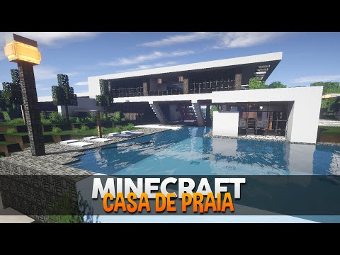 Download video minecraft incr vel casa de praia moderna for Jazzghost casas modernas 9