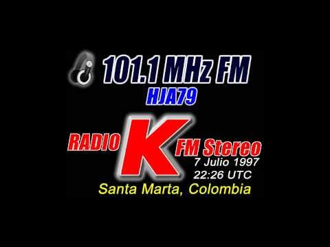 "101.1 MHZ HJA79 Radio ""K"" FM Stereo"