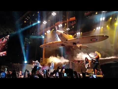 Iron Maiden Live Los Angeles Intro Aces High Ufo Churchill's Speech