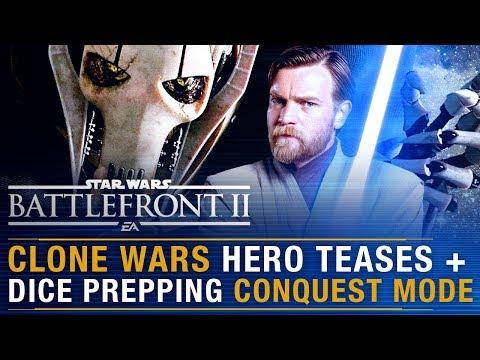 Clone Wars Hero Teases + DICE Prepping Conquest Mode + Devs Return to Work | Battlefront Update