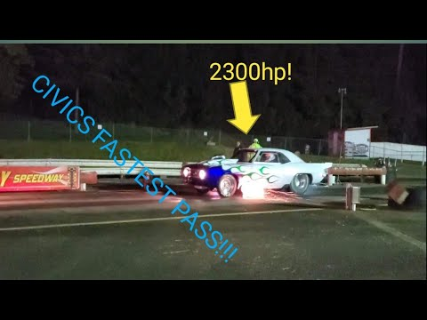 Coos bay drag racing (New fastest time!)