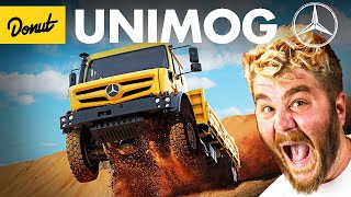 UNIMOG: The Massive Mercedes Truck You've Never Heard Of | Up To Speed