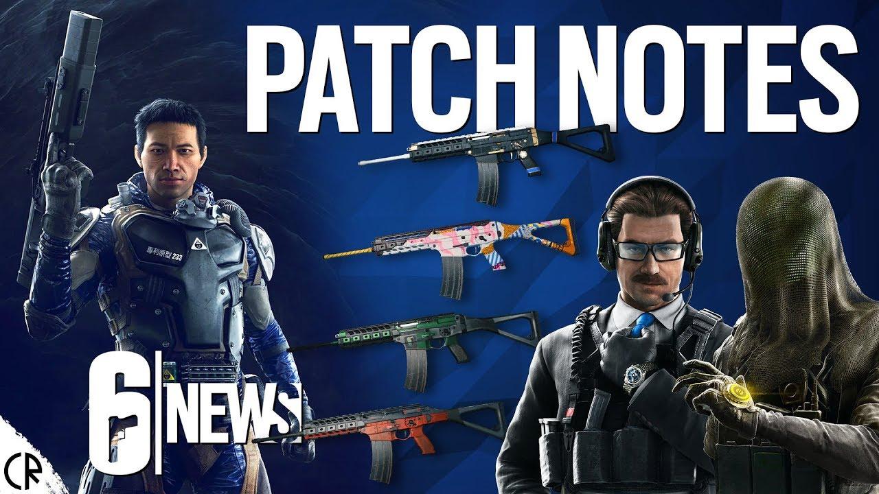 Patch Notes - Phantom Sight Nokk & Warden - 6News - Tom Clancy's Rainbow  Six Siege