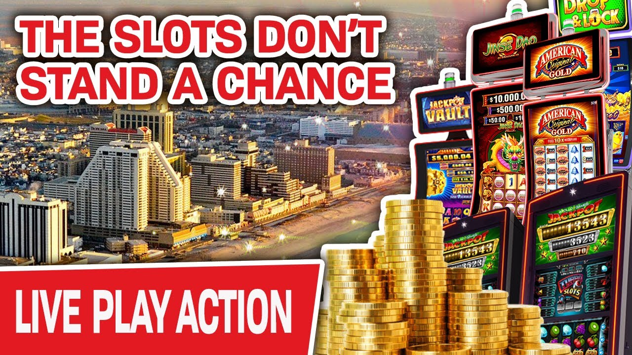Atlantic City Live Again Slot Machines Don T Stand A Chance Against Raja Youtube