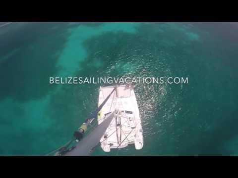 The Catamaran Charter of Belize -Belize Sailing Vacations