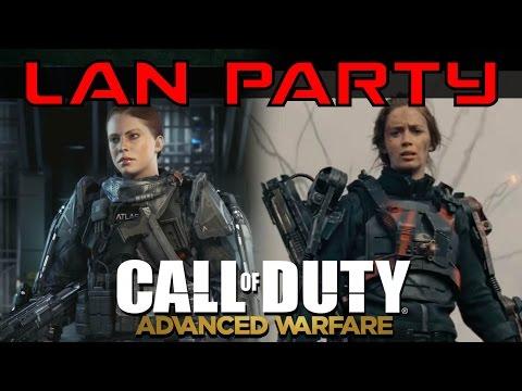 CoD Advanced Warfare - Team Kingslayer - LAN Party