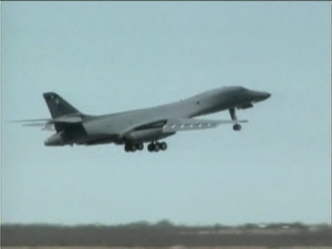 B-1 Lancer Aircraft Hit Supersonic Speeds Using New ... B1 Lancer Supersonic