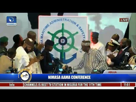 Osinbajo Unveils New NIMASA Logo,Urges Continental Collaboration To Develop Sector Pt 2
