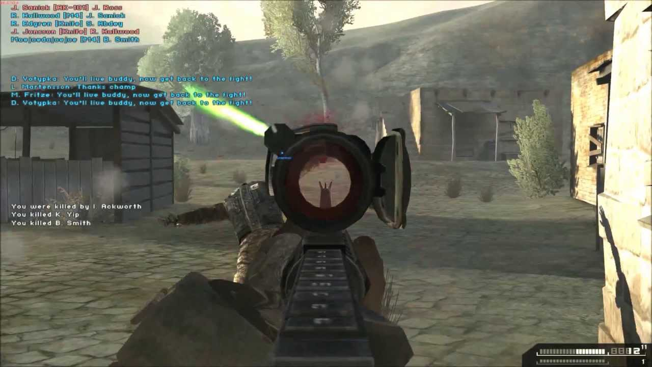 Battlefield 2 Combat Mod Gameplay Commentary Youtube