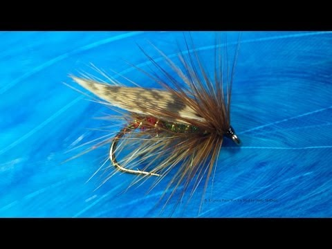 Tying R A Green Peter Lough Style WetFly with Davie McPhail