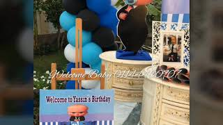 Babyboss birthday theme