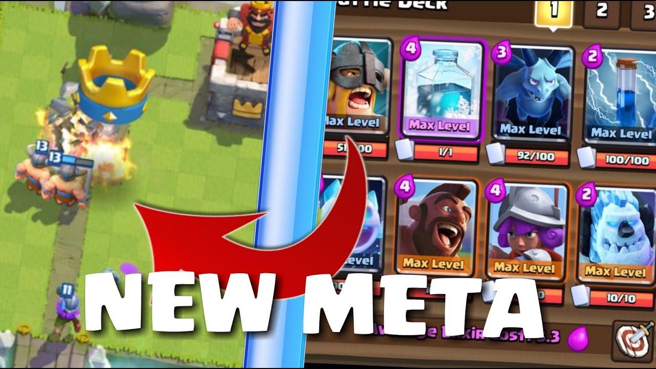 Clash Royale L Best Hog Elite Barbarian Deck L Top Global