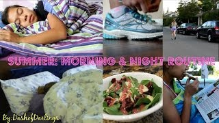 Our Morning & Night Summer Routines! Thumbnail
